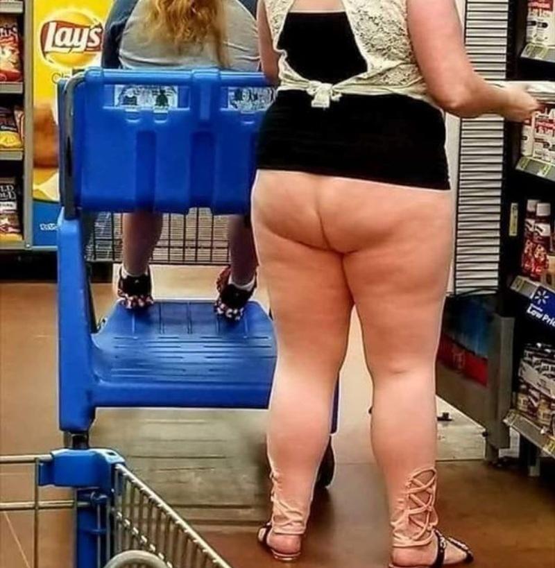 Люди из американских супермаркетов